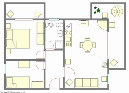Appartamento Torri del Benaco Trilocale